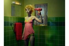 Chromo Thriller 3 – Miles Aldridge, Woman, Art, Model, Fashion, Doll, Hairstyle