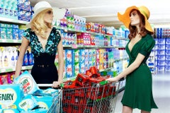 First Impressions #1 – Miles Aldridge, Woman, Fashion, Colour, Supermarket