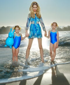 From Here to Maternity #1 – Miles Aldridge, Woman, Fashion, Colour, Mother