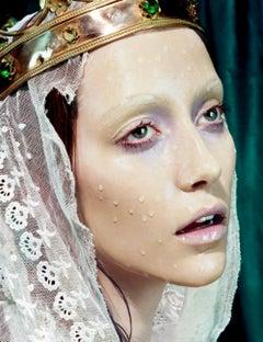 Immaculée #2 – Miles Aldridge, Woman, Fashion, Erotic, Art, Glamour, Portrait