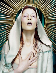Immaculée #5 – Miles Aldridge, Woman, Fashion, Erotic, Art, Glamour, Portrait