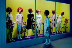 Mannequin Thriller #1 – Miles Aldridge, Woman, Mannequin, Fashion, Doll, Model