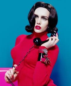 Pop Wife #3 – Miles Aldridge, Woman, Fashion, Colour, Erotic, Telefphone, Art