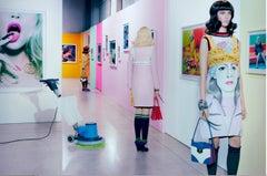 The Cult of Self #3 – Miles Aldridge, Woman, Fashion, Family, Park, Colour, Art