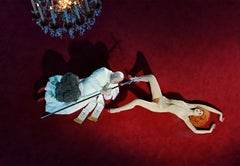 The Ninth Hour (after Cattelan) – Miles Aldridge, Woman, Fashion, Erotic, Nude