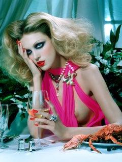 The Pure Wonder #5 – Miles Aldridge, Woman, Lips, Fashion, Dinner, Erotic, Art