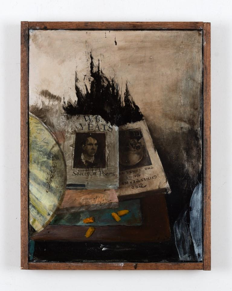 Bedside Burning - Painting by Miles Cleveland Goodwin