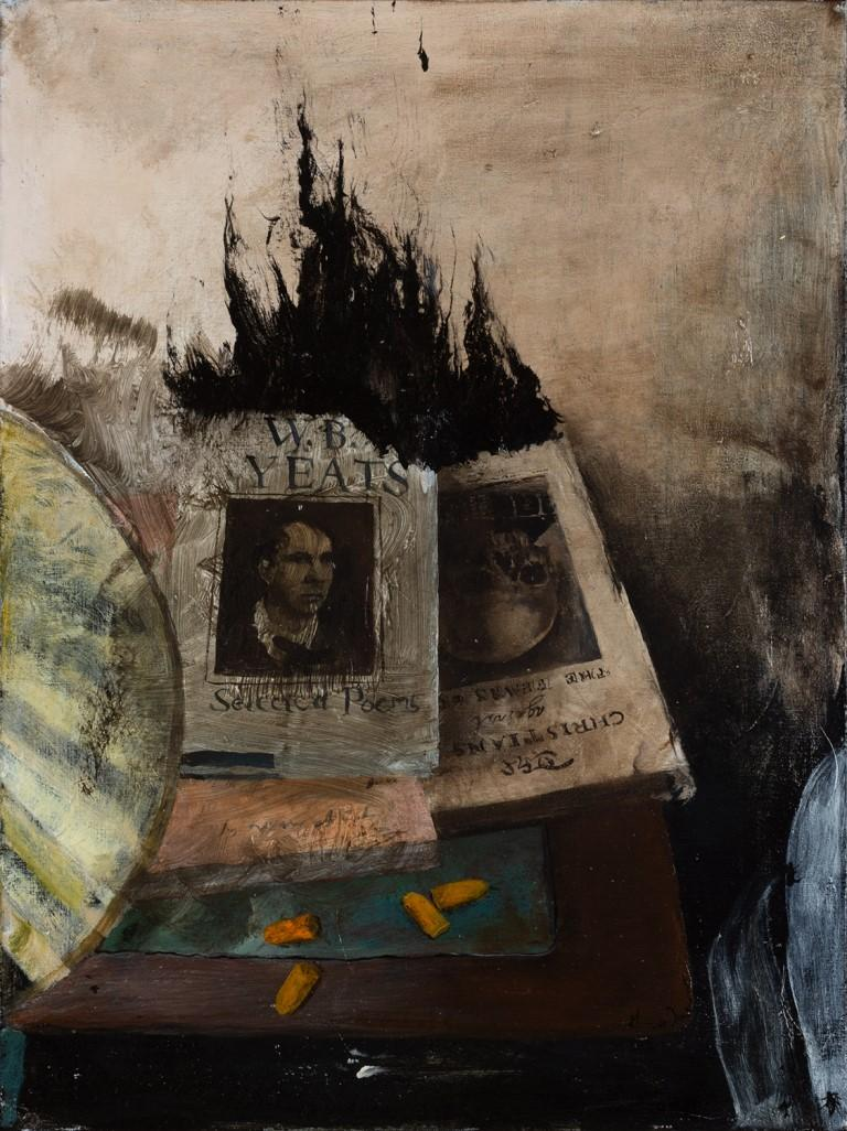 Miles Cleveland Goodwin Interior Painting - Bedside Burning