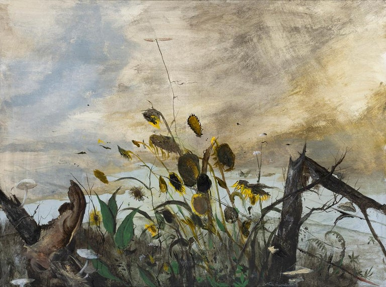 Miles Cleveland Goodwin Landscape Painting - Earth and Sky
