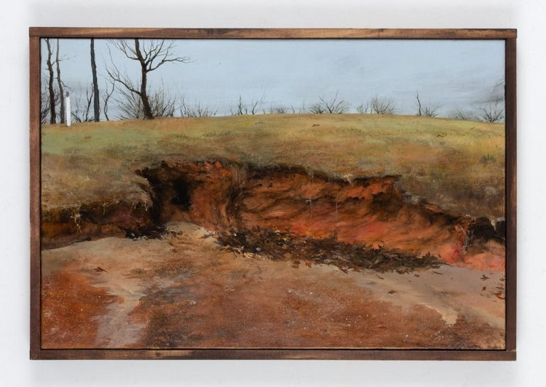 Red Earth - Painting by Miles Cleveland Goodwin