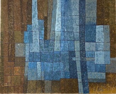 Miles Cole, Out of the Night, Abstract Art, Geometric Abstract Art