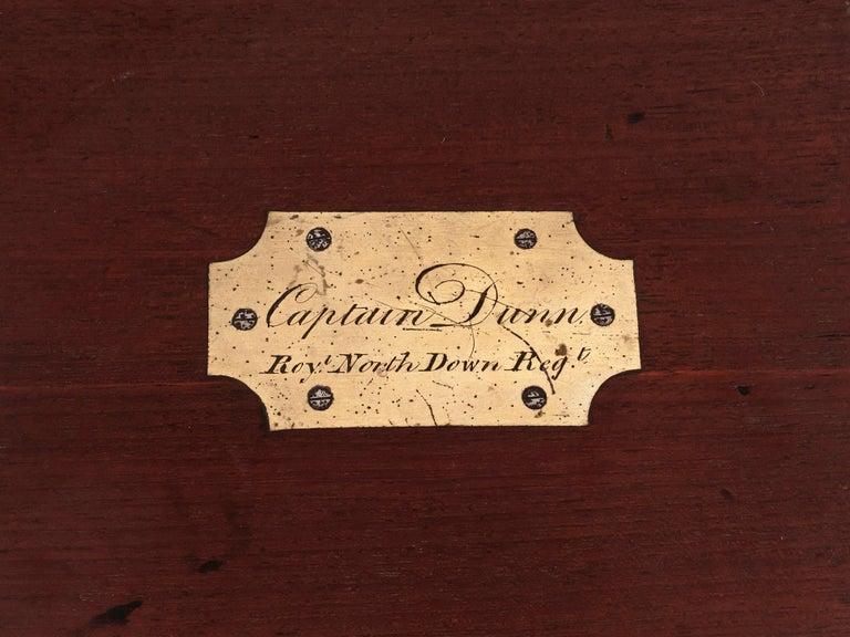 Military Mahogany Decanter Box For Sale 2