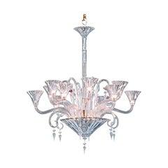 Mille Nuits 12 Lights crystal Chandelier, design Mathias, edited by Baccarat