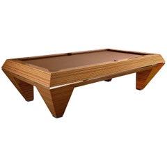 Millennium Zebrano Billiard Pool Table