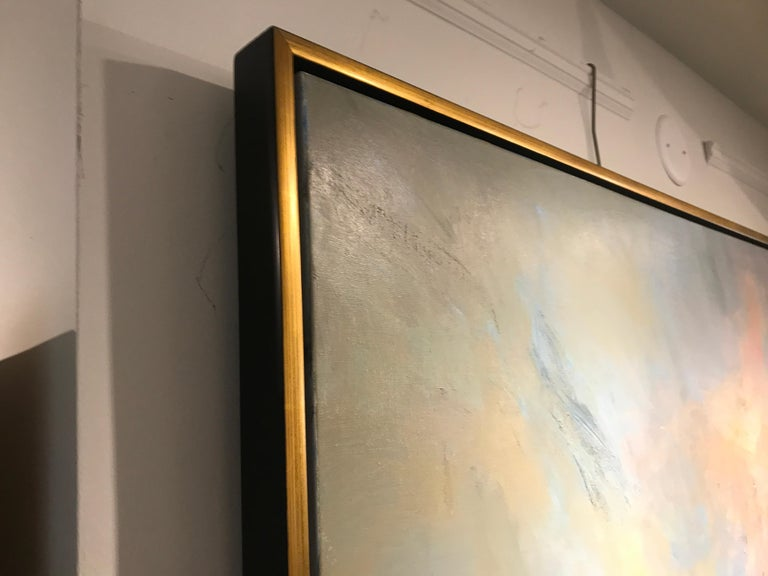 Evening Grace by Millie Gosch, Framed Impressionist Landscape Oil Painting For Sale 8