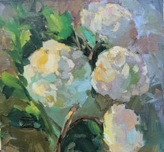 Tranquil Whisper by Millie Gosch, Small Framed Oil on Board Still-Life Painting