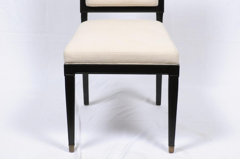 Milling Road Windom Side Chair by Darryl Carter for Baker In Good Condition For Sale In Atlanta, GA