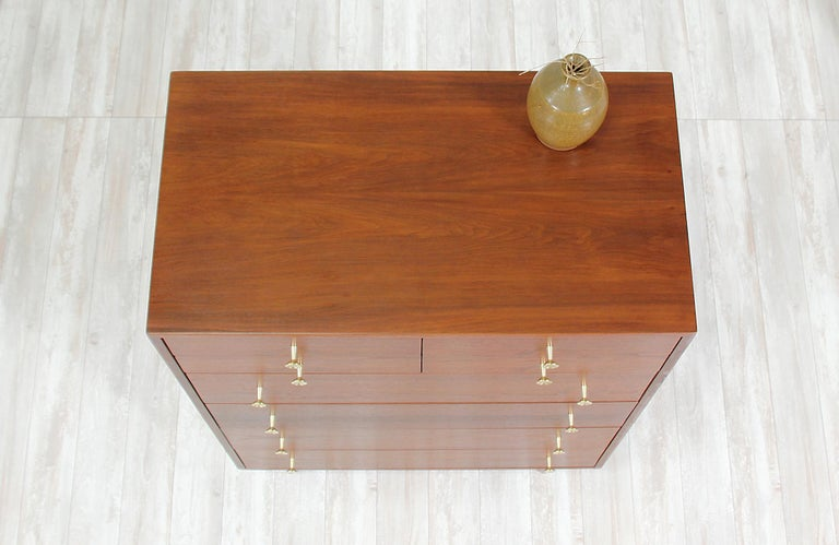 Milo Baughman 8-Drawer Chest of Drawers for Glenn of California In Excellent Condition For Sale In Los Angeles, CA