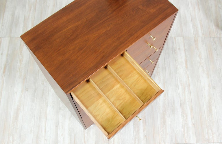Mid-20th Century Milo Baughman 8-Drawer Chest of Drawers for Glenn of California For Sale