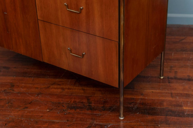 Milo Baughman Tall Cabinet from his Directional Line For Sale 3