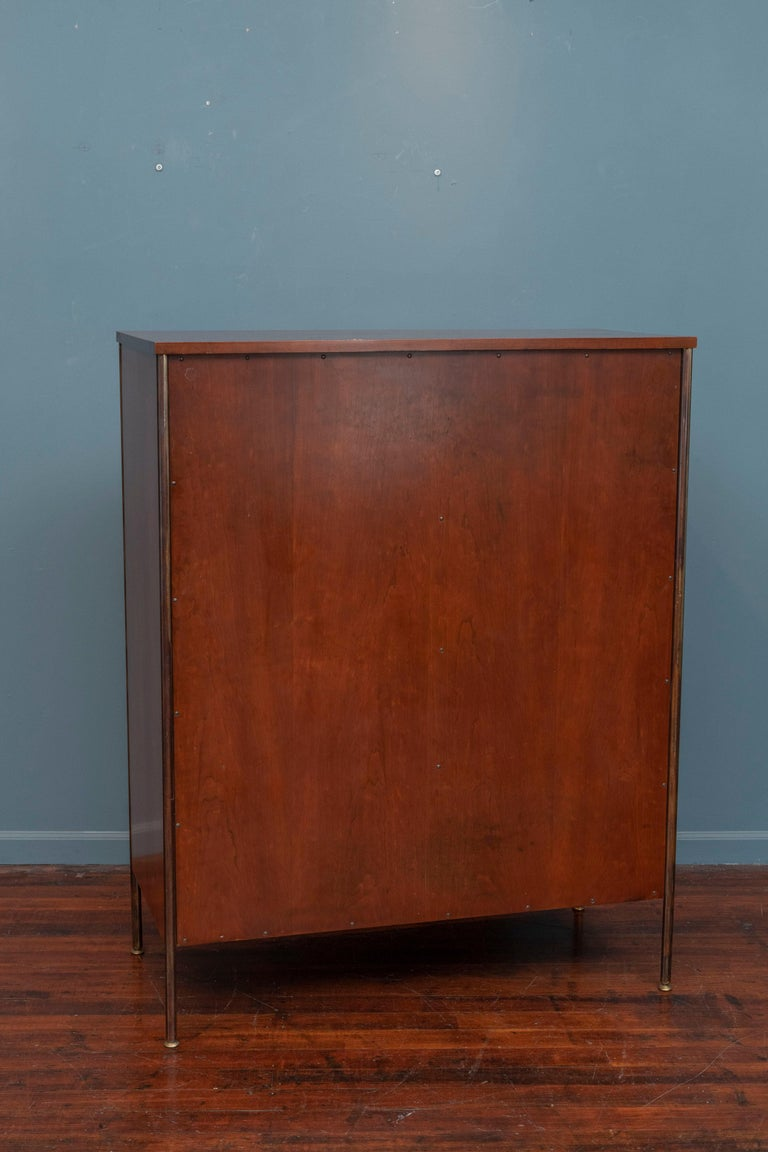 Milo Baughman Tall Cabinet from his Directional Line For Sale 4
