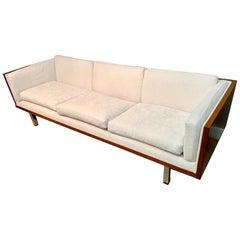 Cased Sofa Newly Upholstered attributed to Jydsk Mobelvaerk