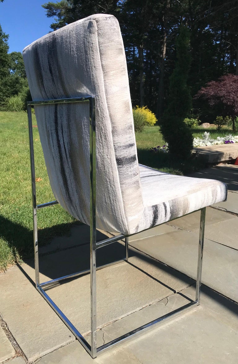 Milo Baughman Chairs In Good Condition In Manchester, MA