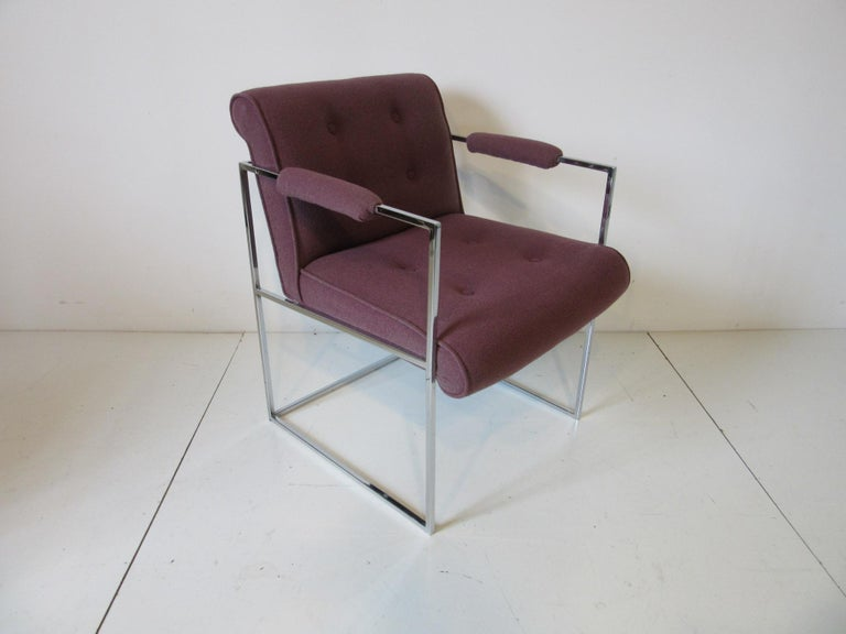 Milo Baughman Dining Armchairs for Thayer Coggin  In Good Condition For Sale In Cincinnati, OH