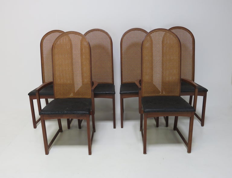 Mid-Century Modern Milo Baughman Dining Chairs For Sale