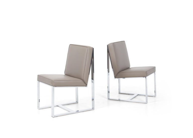 American Milo Baughman Dining Chairs, Set of 8 For Sale