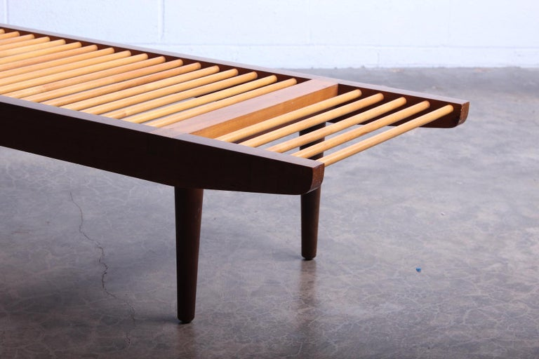 Milo Baughman Dowel Bench for Glenn of California For Sale 5