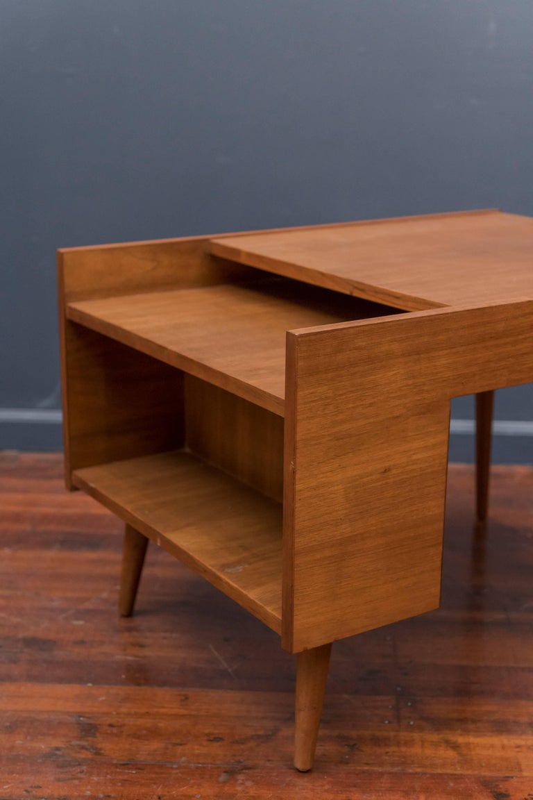 Mid-Century Modern Milo Baughman End Table for Glenn of California For Sale