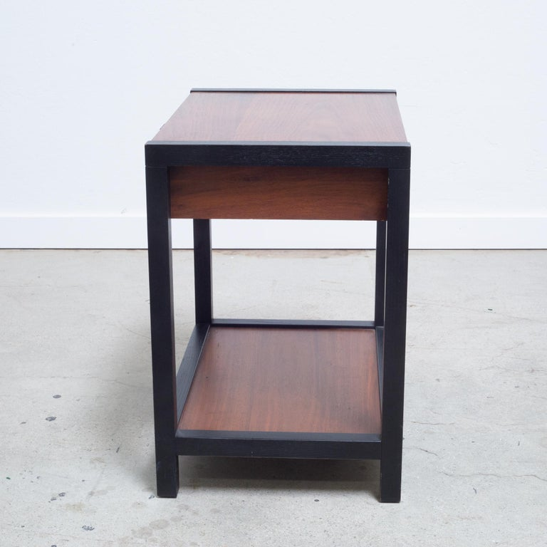 Milo Baughman for Directional Gentleman's Nightstand circa 1960 In Good Condition For Sale In San Francisco, CA