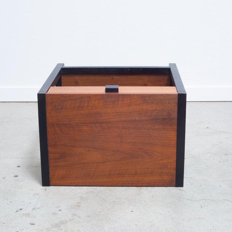 Milo Baughman for Directional Gentleman's Nightstand circa 1960 For Sale 1