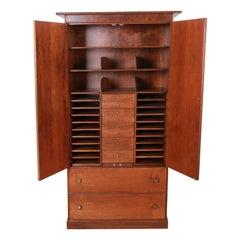 Milo Baughman for Directional Mid-Century Modern Armoire Dresser, Newly Restored