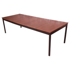 Milo Baughman for Directional Mid-Century Modern Walnut Dining Table, Refinished