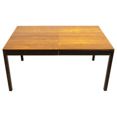 Milo Baughman for Directional Parsons Midcentury Multi Wood Dining Table