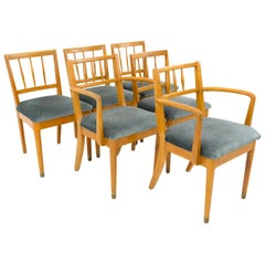 Milo Baughman for Drexel New Todays Living Midcentury Dining Chairs, Set of 6