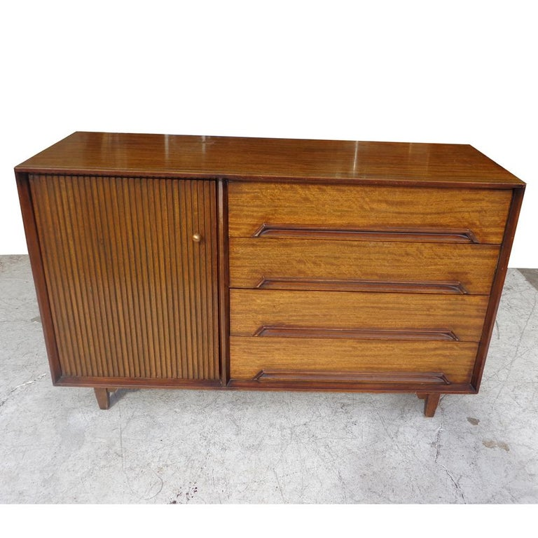 American Milo Baughman for Drexel Perspective Buffet or Credenza For Sale