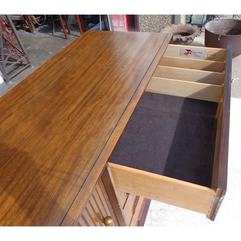 Mid-20th Century Milo Baughman for Drexel Perspective Buffet or Credenza For Sale