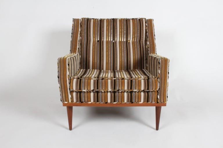 Mid-Century Modern Milo Baughman for James Inc. Lounge Chair For Sale