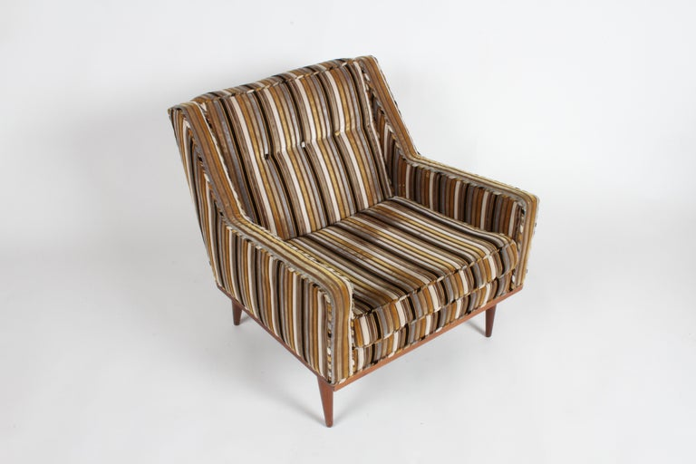American Milo Baughman for James Inc. Lounge Chair For Sale