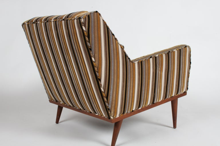 Stained Milo Baughman for James Inc. Lounge Chair For Sale