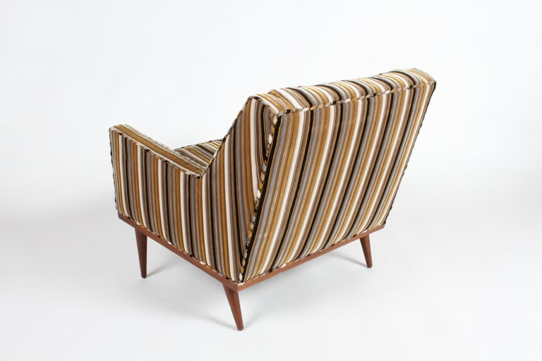 Milo Baughman for James Inc. Lounge Chair In Good Condition For Sale In St. Louis, MO