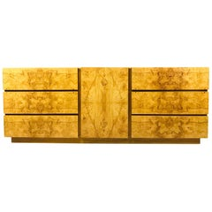 Roland Carter for Lane Burl Wood Dresser