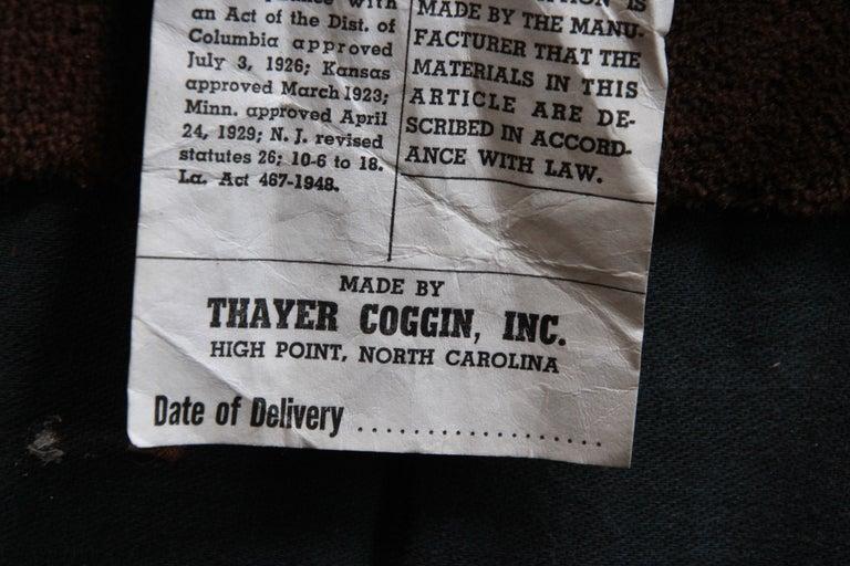 Milo Baughman for Thayer Coggin Burl Wood Case Sectional Sofa, 1970s For Sale 1