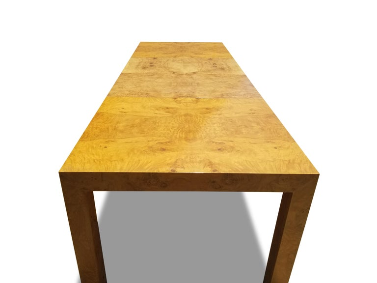 Milo Baughman for Thayer Coggin Burlwood Dining Table 1
