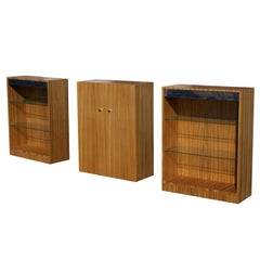 Milo Baughman For Thayer Coggin Cabinet And Shelf Units