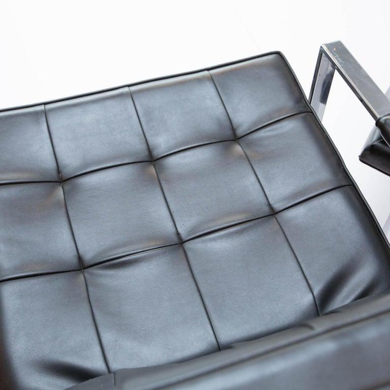 Milo Baughman for Thayer-Coggin Chrome Armchairs In Good Condition For Sale In Darien, CT