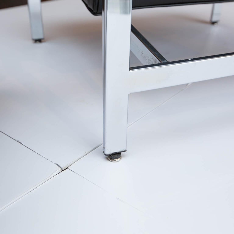 Milo Baughman for Thayer-Coggin Chrome Armchairs For Sale 2